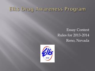 Elks Drug Awareness Program