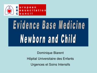 Evidence Base Medicine Newborn and Child