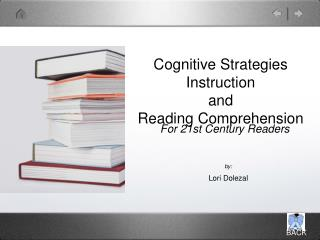 Cognitive Strategies Instruction and Reading Comprehension