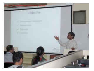Dr. S.K. Jain delivering introductory lecture