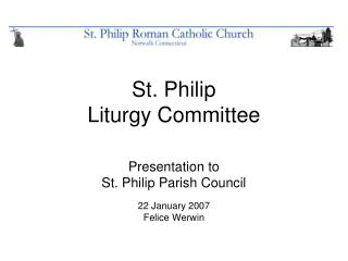 St. Philip Liturgy Committee