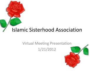 Islamic Sisterhood Association