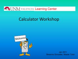 Calculator Workshop