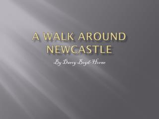 A walk around Newcastle