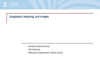 Geography, Mapping, and Images