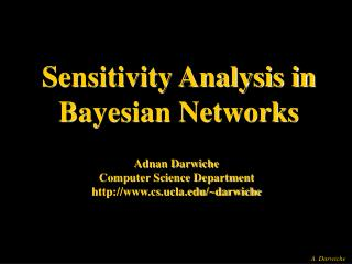 Sensitivity Analysis in Bayesian Networks