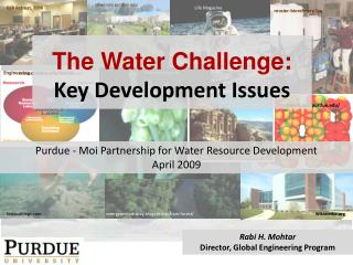 The Water Challenge: Key Development Issues