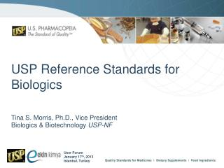 USP Reference Standards for Biologics