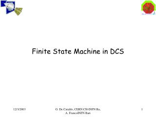 Finite State Machine in DCS