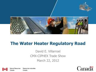 The Water Heater Regulatory Road