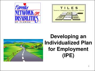 Developing an Individualized Plan for Employment (IPE)