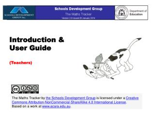 Introduction & User Guide (Teachers)