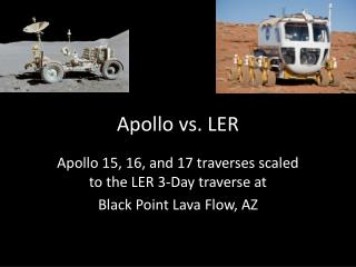 Apollo vs. LER