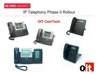 IP  Telephony Phase  II Rollout