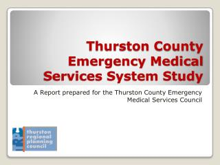 Thurston County Emergency Medical Services System Study