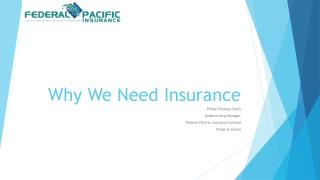 Why We Need Insurance
