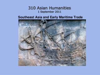 Southeast Asia and Early Maritime Trade