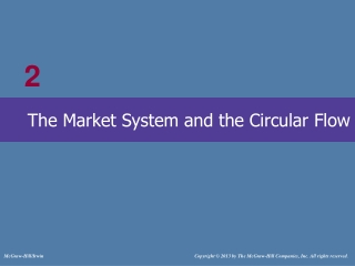 The Market System  the Circular Flow