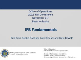 IFB Fundamentals