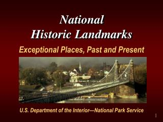 National  Historic Landmarks