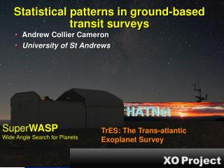 Statistical patterns in ground-based transit surveys