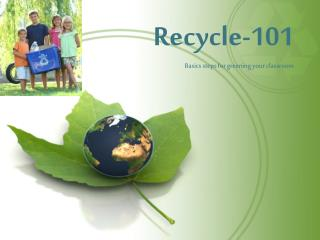 Recycle-101