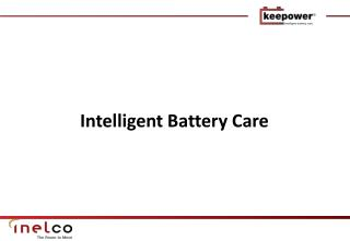 Intelligent Battery Care
