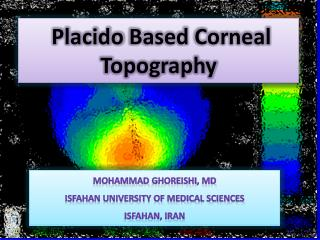 Placido  Based Corneal Topography