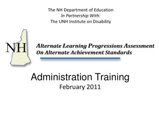 Administration Training February 2011