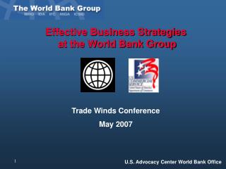 Effective Business Strategies  at the World Bank Group