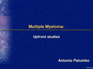 Multiple Myeloma: