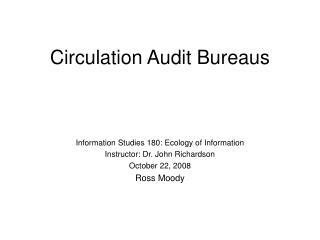 Circulation Audit Bureaus