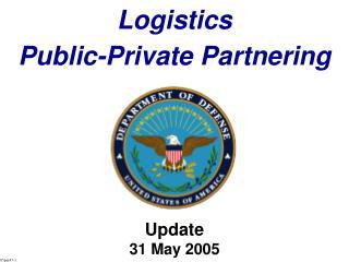 Logistics Public-Private Partnering