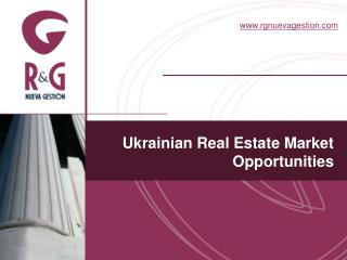 Ukrainian Real Estate Market Opportunities