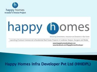 Happy Homes Infra Developer Pvt Ltd (HHIDPL)
