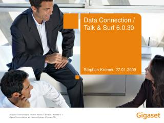 Data Connection /  Talk & Surf 6.0.30