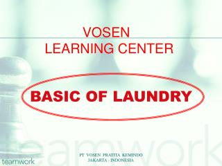 VOSEN  LEARNING CENTER