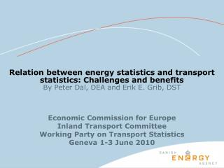 Economic Commission for Europe Inland Transport Committee Working Party on Transport Statistics