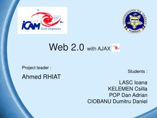 Web 2.0  with AJAX