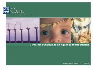 Center for  Business as an Agent of World Benefit