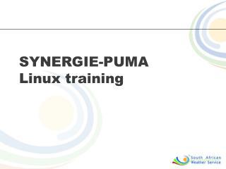 SYNERGIE-PUMA Linux training