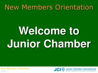 Welcome to Junior Chamber