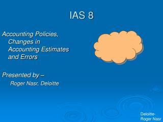 IAS 8