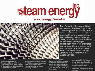 Your Energy, Smarter