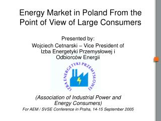 Energy Market in Poland From the Point of View of Large Consumers