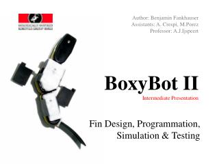 BoxyBot II Intermediate Presentation