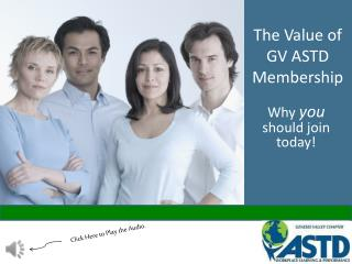 The Value of GV ASTD Membership