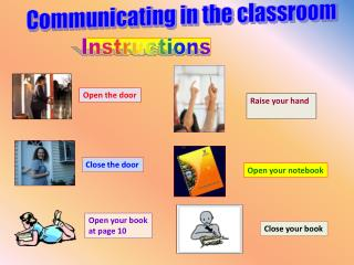 Communicating in the classroom
