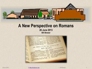 A New Perspective on Romans