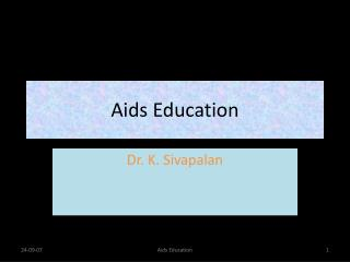 Aids Education